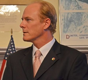 Lawrence Gaughan, 5th District Congressional Candidate (photo by John P. Flannery)