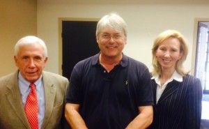 Frank Wolf, Andrew Nicholson, and Barbara Comstock.