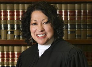 Associate Justice Sonia Sotomayor asks the question