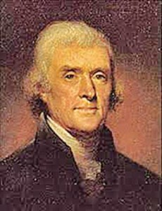 "Thomas Jefferson: ""All men are created equal"""