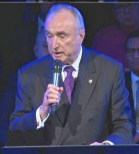 New York City Police Commissioner, William J. Bratton