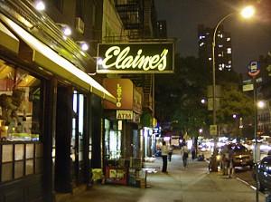 Elaine's Restaurant