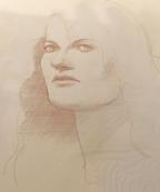 An early sketch by Rudy Hoglund