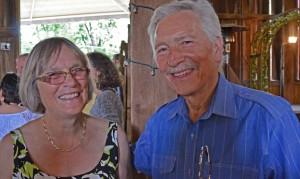 Pamela and Malcolm Baldwin