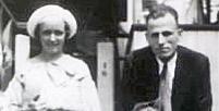Catherine McCoy and Edward Applegate, her American husband