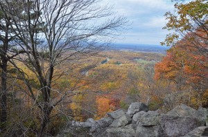 A Fall view from the Appalachian Trail nearby