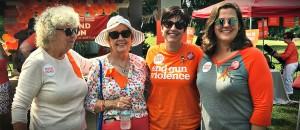 From Lovettsville – Sheila Kryston, Sally Swanson, Kristen Swanson, and Anne Ford