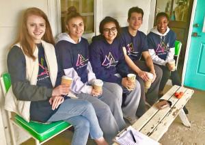 Angelina Eades, Elizabeth Marcheschi, Maryam Khan, Malcolm Woehrle, and Kendall Briscoe